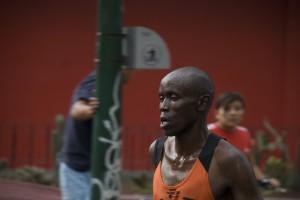 Kenianischer Läufer