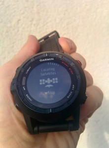 Garmin Fenix 2 GPS Fix