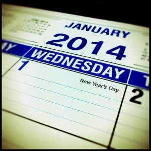 Jahresplanung Kalender 2014