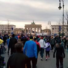 Pariser Platz und Brandenburger Tor - Naujahrslauf Berlin