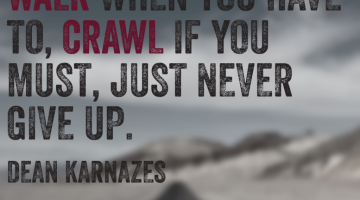 "Laufzitate: Dean Karnazes ""Run when you can…"""