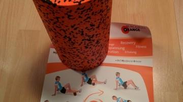 Blackroll Orange im Test: Wie gut ist die Schaumstoffrolle?