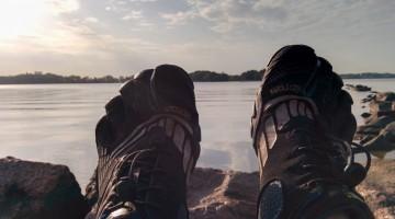 Endlich: Erster Lauf in Finnland