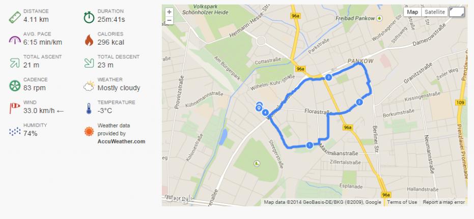 GPS Aufzeichnung mit der Garmin Fenix 2